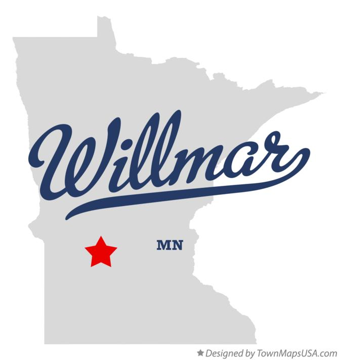 map_of_willmar_mn
